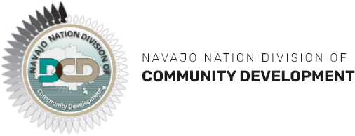 navajo nation division of community development logo