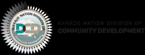 navajo nation division of community development logo