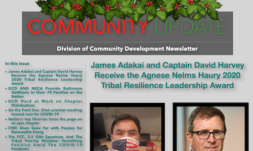 December 2020 Edition of DCD Newsletter is now available