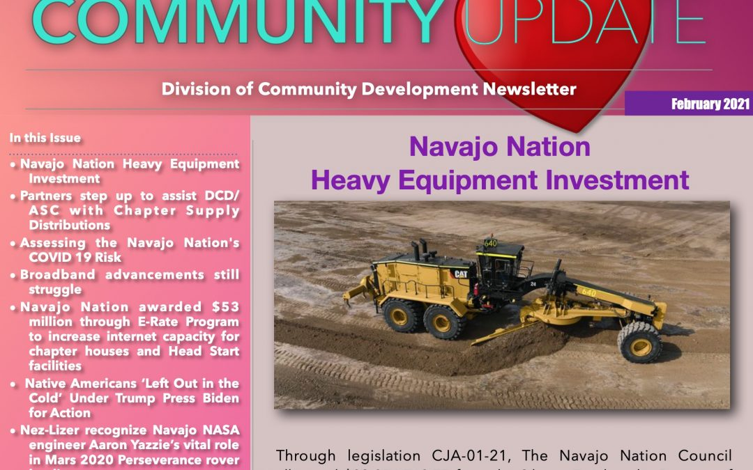 February 2021 Edition of DCD Newsletter Available Now!