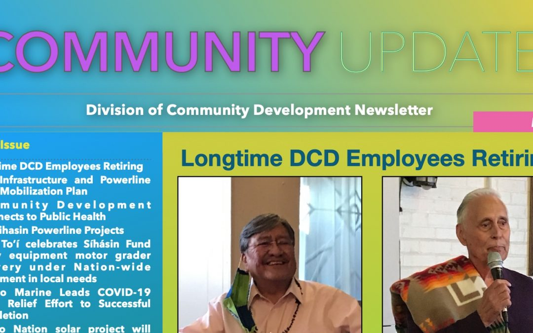 April 2021 Edition of DCD Newsletter Available Now