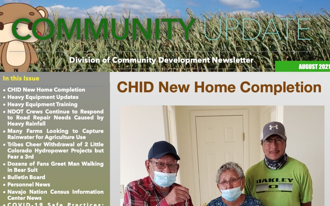August 2021 Edition of DCD Newsletter Available Now